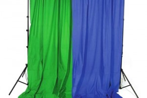 Chroma green blue screen